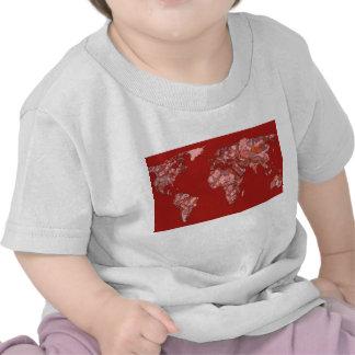 Red sandy atlas tee shirt