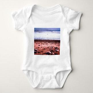Red Sandy 'Martian' Landscape Baby Bodysuit