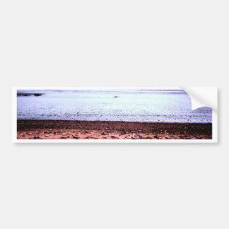 Red Sandy 'Martian' Landscape Bumper Sticker