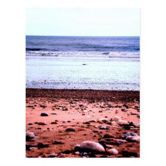 Red Sandy 'Martian' Landscape Postcard