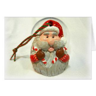 Red Santa Card