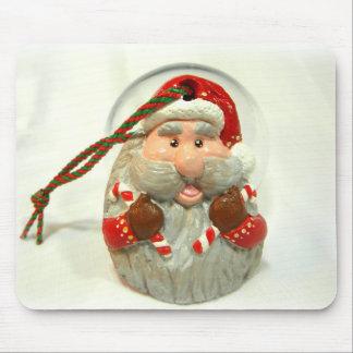 Red Santa Mouse Pad