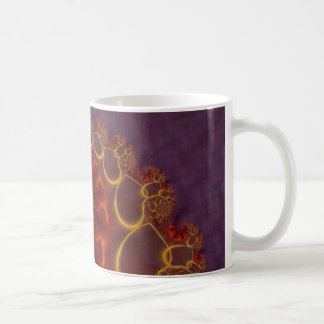 Red Satin Spiral Coffee Mug