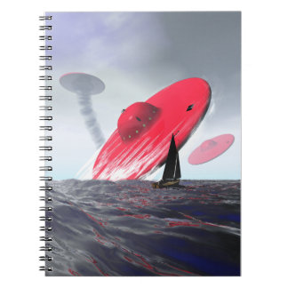 Red Saucer Attack Notebooks