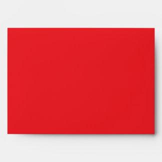 Red Save the Day Superhero Custom Envelopes