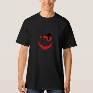 red scary face T-Shirt