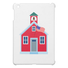Red School House Case For The iPad Mini