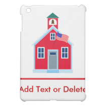 Red School House iPad Mini Cover