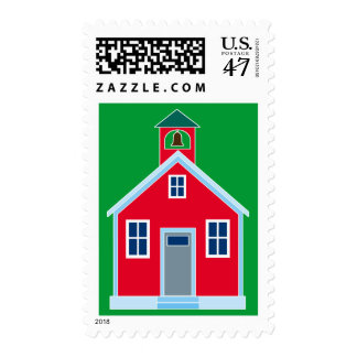 Red School House Postage