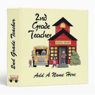 Red Schoolhouse 2nd Grade Teacher Binder
