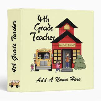 Red Schoolhouse 4th Grade Teacher Binder