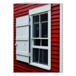 Red Schoolhouse Greeting Card