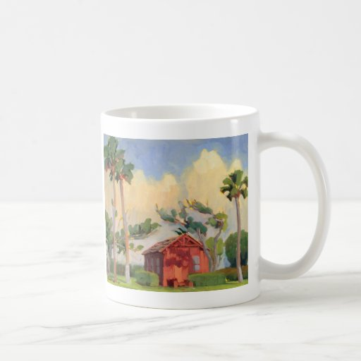 Red Schoolhouse mug