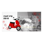Red Scooter Card