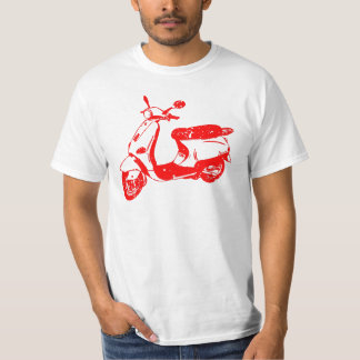 Red Scooter T-Shirt