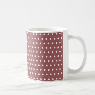 red scores polka hots dabs samples scored DOT Coffee Mug