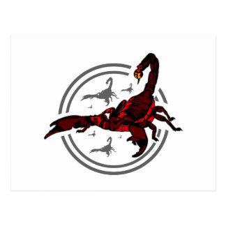 Red Scorpion Postcard