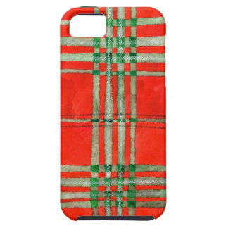 Red Scott Tartan iPhone SE/5/5s Case