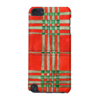 Red Scott Tartan iPod Touch 5G Cover