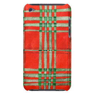 Red Scott Tartan iPod Touch Cover