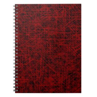 """Red """"Scratch"""" Notebook"""