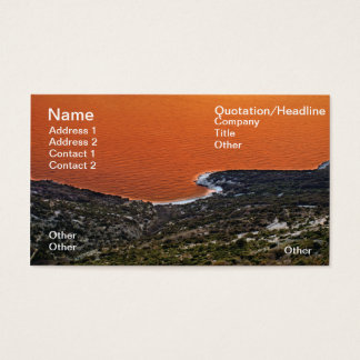 Red sea business card