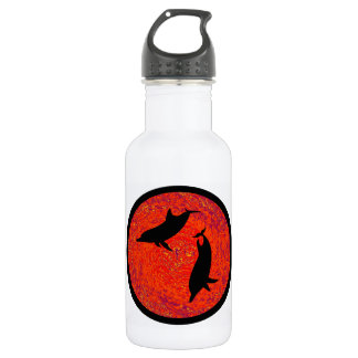 RED SEA DOLPHINS 18OZ WATER BOTTLE
