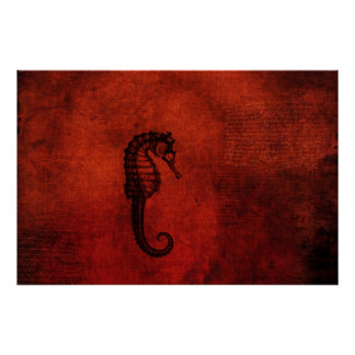 Red Sea Dragon Poster