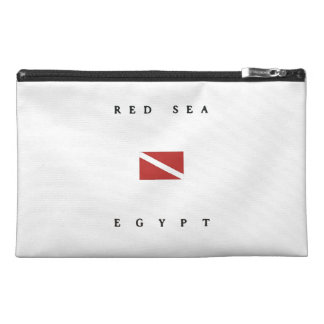 Red Sea Egypt Scuba Dive Flag Travel Accessories Bag