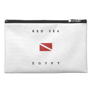 Red Sea Egypt Scuba Dive Flag Travel Accessory Bag