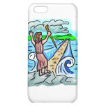 Red Sea parting Christian artwork Cover For iPhone 5C