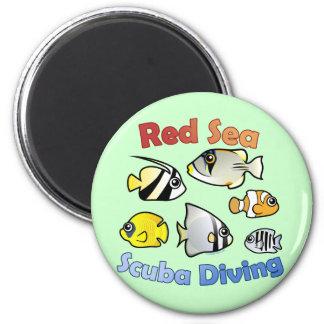 Red Sea Scuba Diving Magnet
