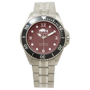 Red sea urchin dive watch