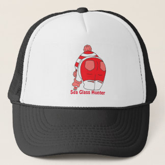 red seaham seaglass trucker hat