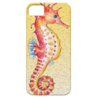red seahorse yellow iPhone SE/5/5s case