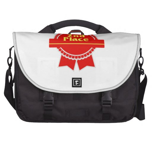 Red Second Place Ribbon Commuter Bags