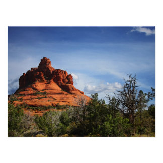 Red Sedona Poster