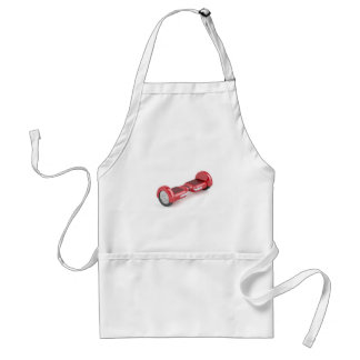 Red self-balancing scooter adult apron