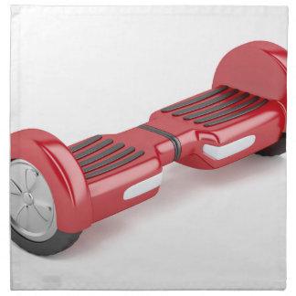 Red self-balancing scooter cloth napkin