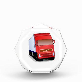 Red Semi-Truck Award