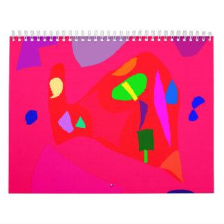 Red Sensation No Material Soul Engaging Calendar