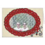 Red Serpent Frame card