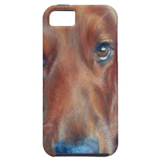 Red setter dog iPhone SE/5/5s case