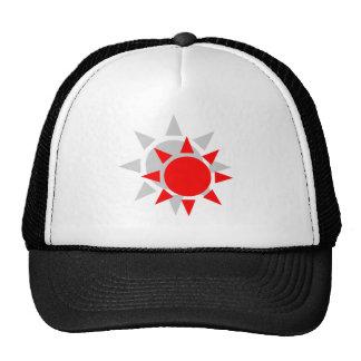 Red Shadow Sun Mesh Hat