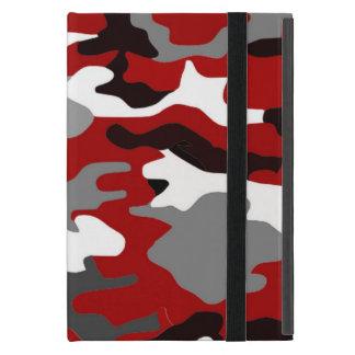 Red Shadows Camo Covers For iPad Mini