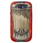 Red Shaggy Sugar shaker Cell Phone Cover Galaxy S3 Cases