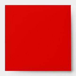 red shapes envelope