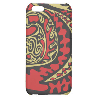 red shapes iphone case cover for iPhone 5C