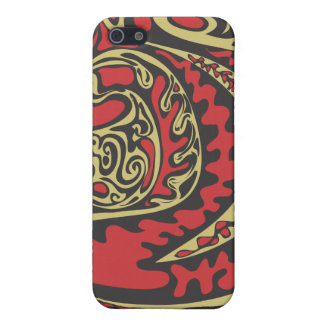 red shapes iphone case covers for iPhone 5