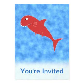 Red Shark. Card